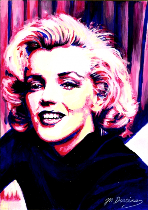 Marilyn Monroe by Mathilde-DRACENA